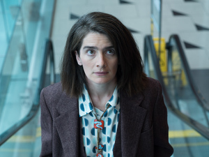 "Gaby Hoffmann plays Ali on the Amazon series Transparent. She says her character was ""lost in the woods of being lost"" and is now working to become ""more focused."""