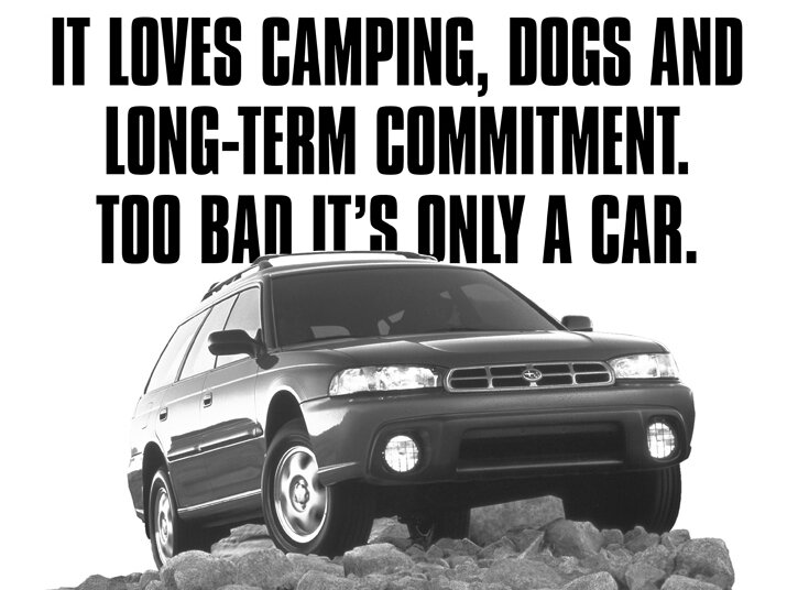 TIL Subaru Subtly Marketed Their Cars To Lesbians In The Ss - Cool cars from the 00s