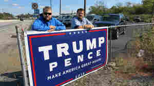 Some Business Owners Say This Election Makes Campaign Signs Worth The Risk
