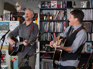 Tiny Desk Concert with Billy Bragg & Joe Henry.