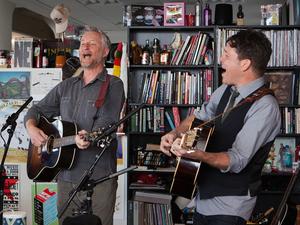 Tiny Desk Concert with Billy Bragg & Joe Henry.