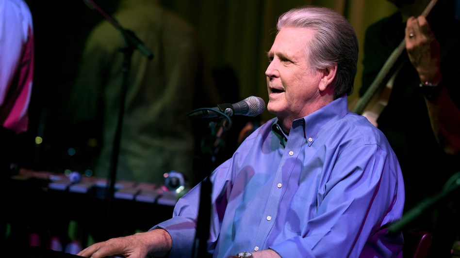Brian Wilson performs in Los Angeles in 2015. He's currently on tour, celebrating the 50th anniversary of the Beach Boys' Pet Sounds. (Getty Images)