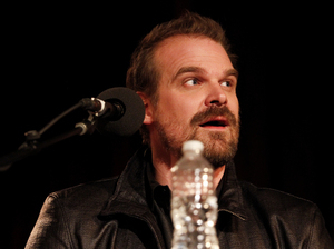 David Harbour on Ask Me Another.