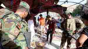 Suicide Bomber Targets Shiites In Baghdad, Killing At Least 32 People
