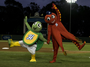 Guest's new mockumentary follows contestants in the World Mascot Association Championship.