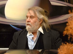 """Music is science more than art, and it is the main code of the universe,"" Vangelis says."
