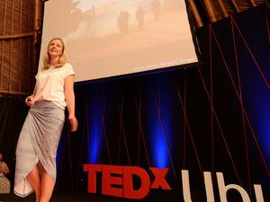 Emily Penn at TEDxUbud.