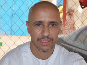 Mohamedou Ould Slahi, a recently released Guantanamo Bay prisoner who wrote the best-selling book Guantanamo Diary, in Nouakchott, Mauritania.