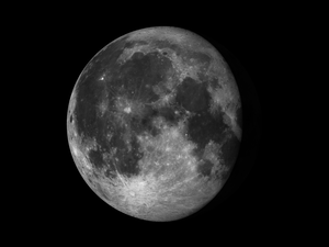 A waning gibbous moon occultation will be visible Tuesday night in parts of the United States.
