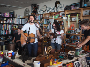 Tiny Desk Concert with Blind Pilot.