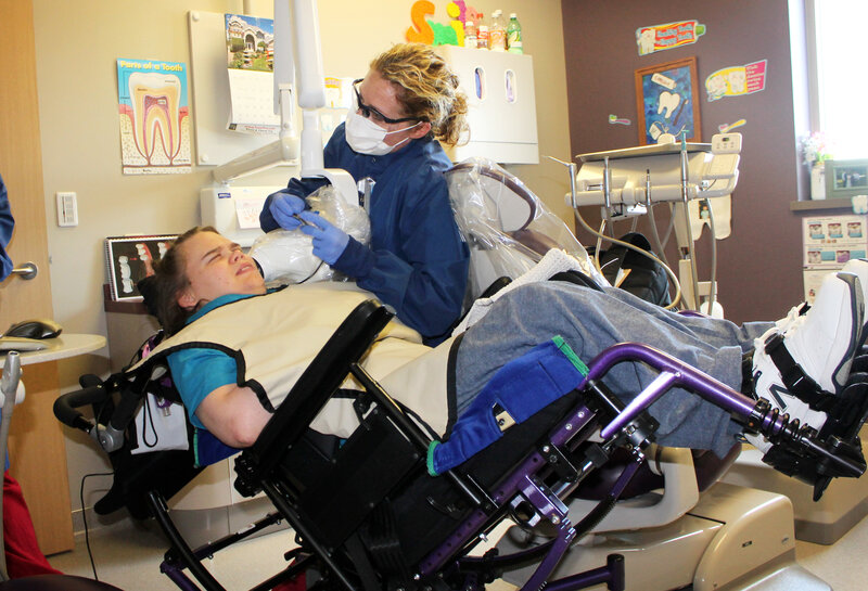 Cool For People With Disabilities Getting Dental Care Can Be Gmtry Best Dining Table And Chair Ideas Images Gmtryco