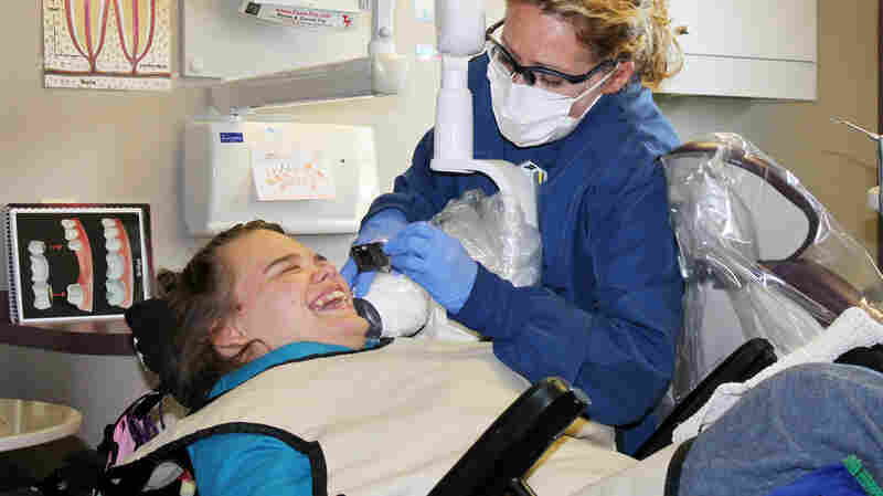 Getting Dental Care Can Be A Challenge For People With Disabilities