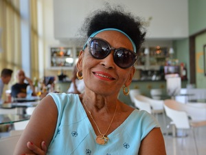 "Omara Portuondo will turn 86 during her current tour of the U.S. ""I'm not a little girl,"" she says, laughing, ""but I feel like a little girl."""