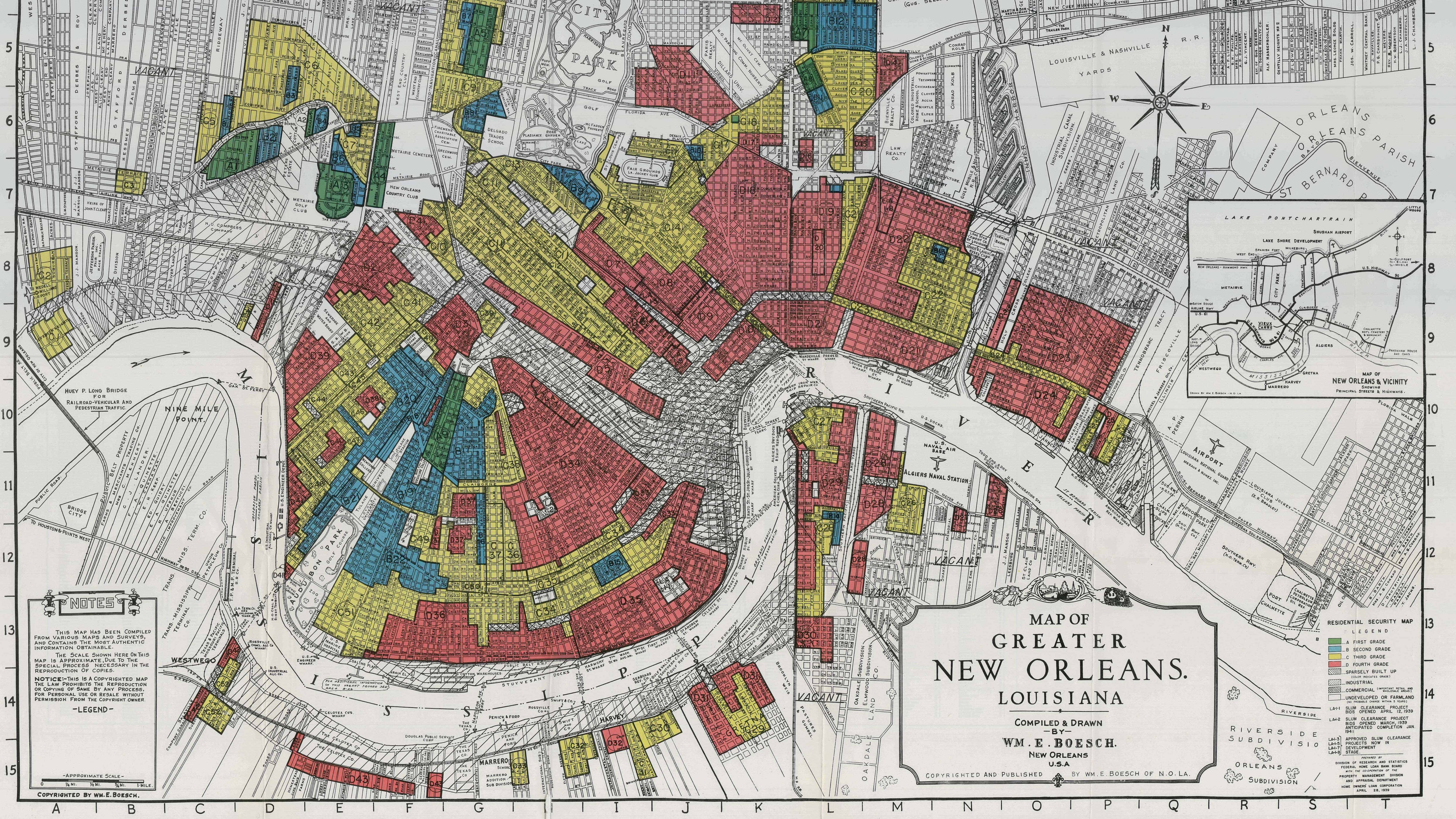 Interactive Redlining Map Zooms In On Americas History Of