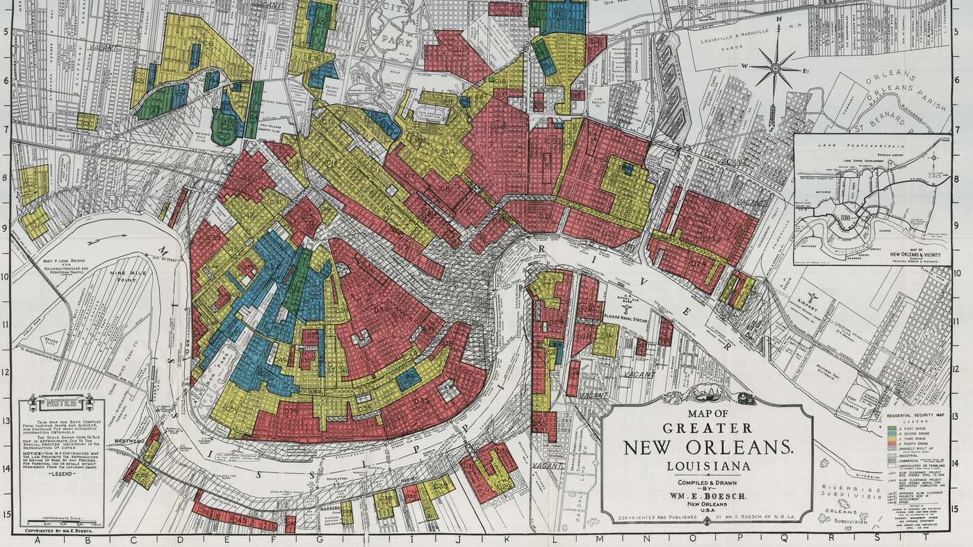 Interactive redlining map zooms in on americas history of discrimination the two way npr