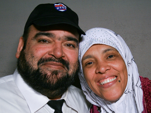 Tariq and Tabinda Sheikh, on a recent visit with StoryCorps.