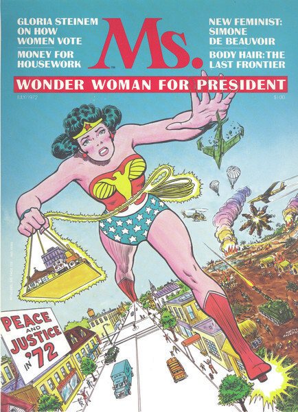 wonder woman by gloria steinem essay summary