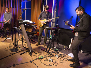 Tycho performs live on Morning Becomes Eclectic.