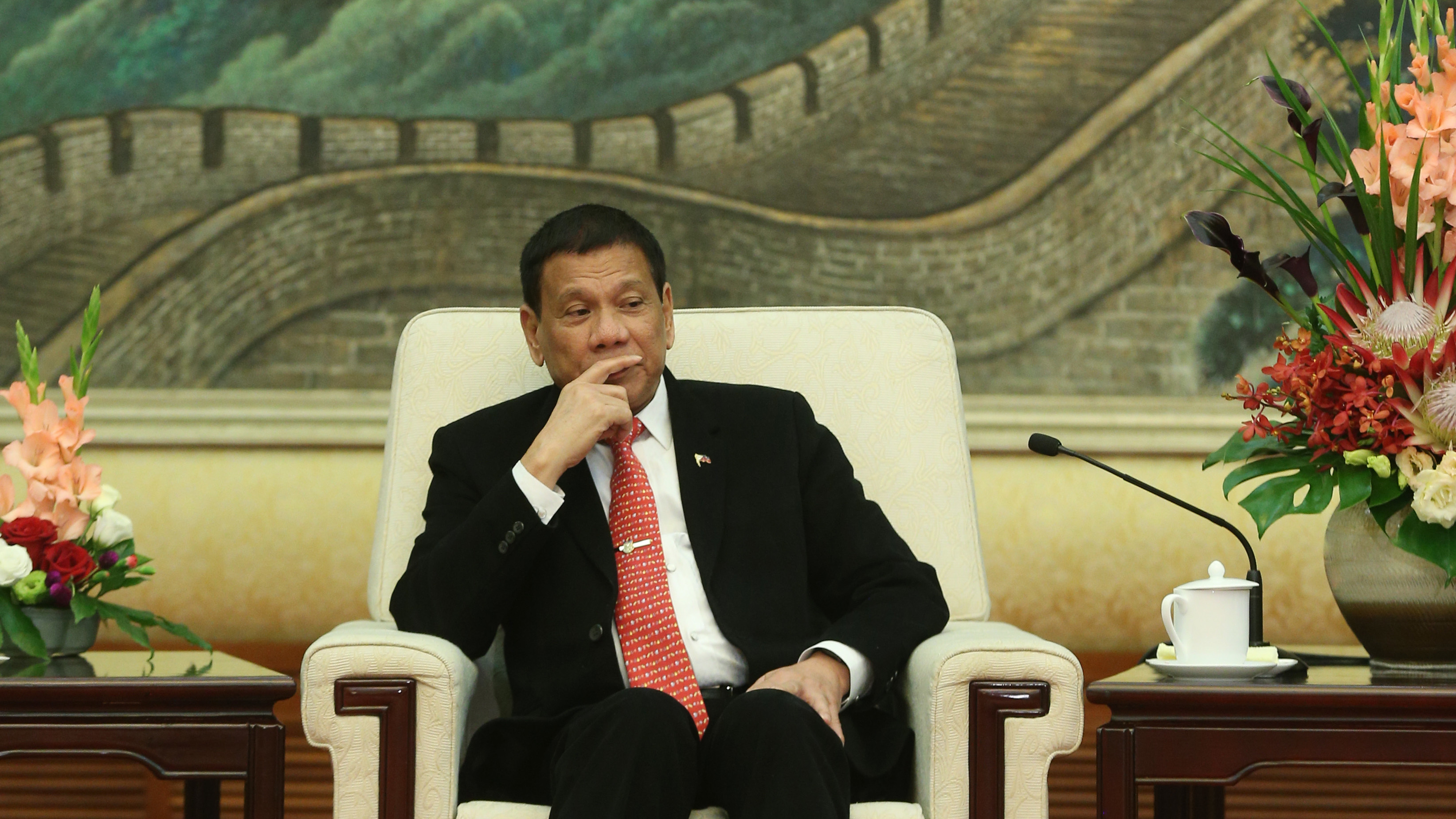 What exactly do you mean by 'separation'? United States to ask Duterte