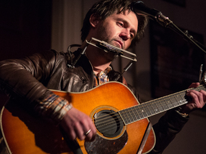 Conor Oberst performs Ruminations in its entirety at Housing Works Bookstore.