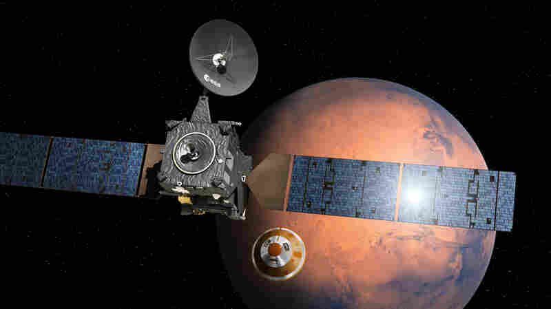Mars Lander May Be Missing, But A Second Spacecraft Is Still Humming Along
