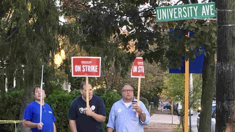 Breakthrough In Strike By Pennsylvania Professors