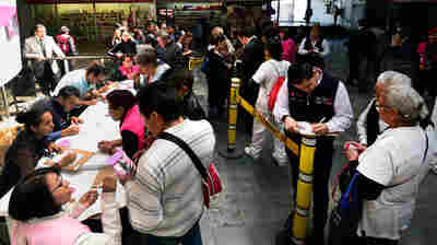 Mexico City's Plan To Fight Sexual Assault: Whistles On The Subway