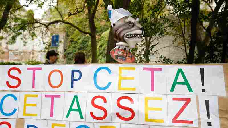 One Tiny Belgian Region Blocks International Trade Deal