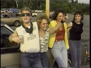 Heavy Metal Parking Lot's concept is simple: a snapshot of eager fans tailgating outside a 1986 Judas Priest and Dokken concert in a Maryland suburb.