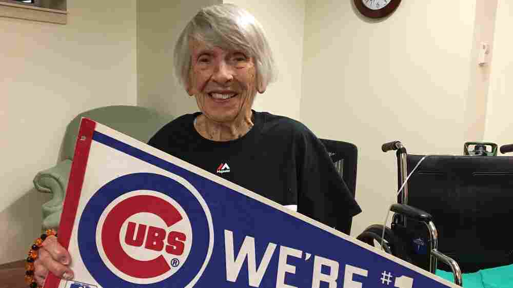 101-Year-Old Chicago Cubs Fan Hopes Beloved Team Grants Her Birthday Wish