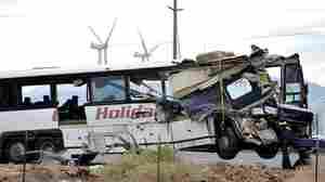 Tour Bus Crashes Into Truck, Killing More Than A Dozen People In California