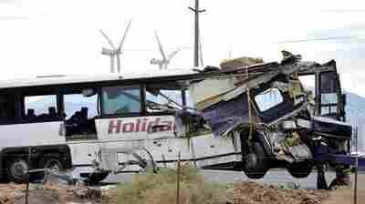 Tour Bus Crashes Into Truck, Killing More Than A Dozen People In California