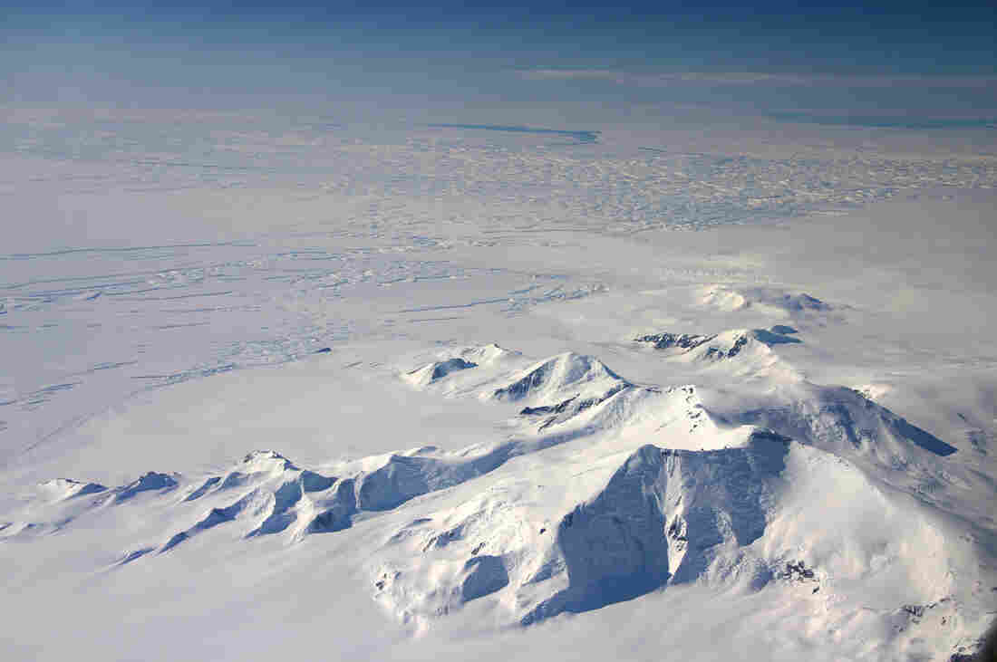 Warmer sea water causes Antarctica to melt faster