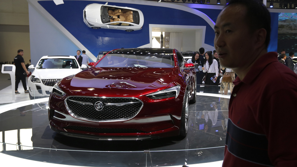 A Buick Avista concept car is exhibited in Beijing in April. Buick, which sells a large percentage of its cars in China, is No. 3 in Consumer Reports' latest reliability rankings. (AP)