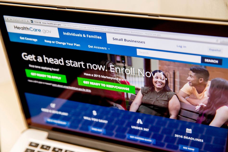 You can check HealthCare.gov for health insurance options and prices. (Andrew Harnik/AP)