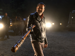 The introduction of Jeffrey Dean Morgan as the villainous Negan takes The Walking Dead in a new direction.