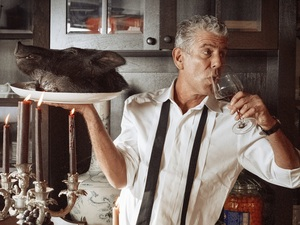 Anthony Bourdain spent decades in the restaurant business before discovering that he had a gift for writing and storytelling. His new cookbook, Appetites, features food he cooks for his 9-year-old daughter.