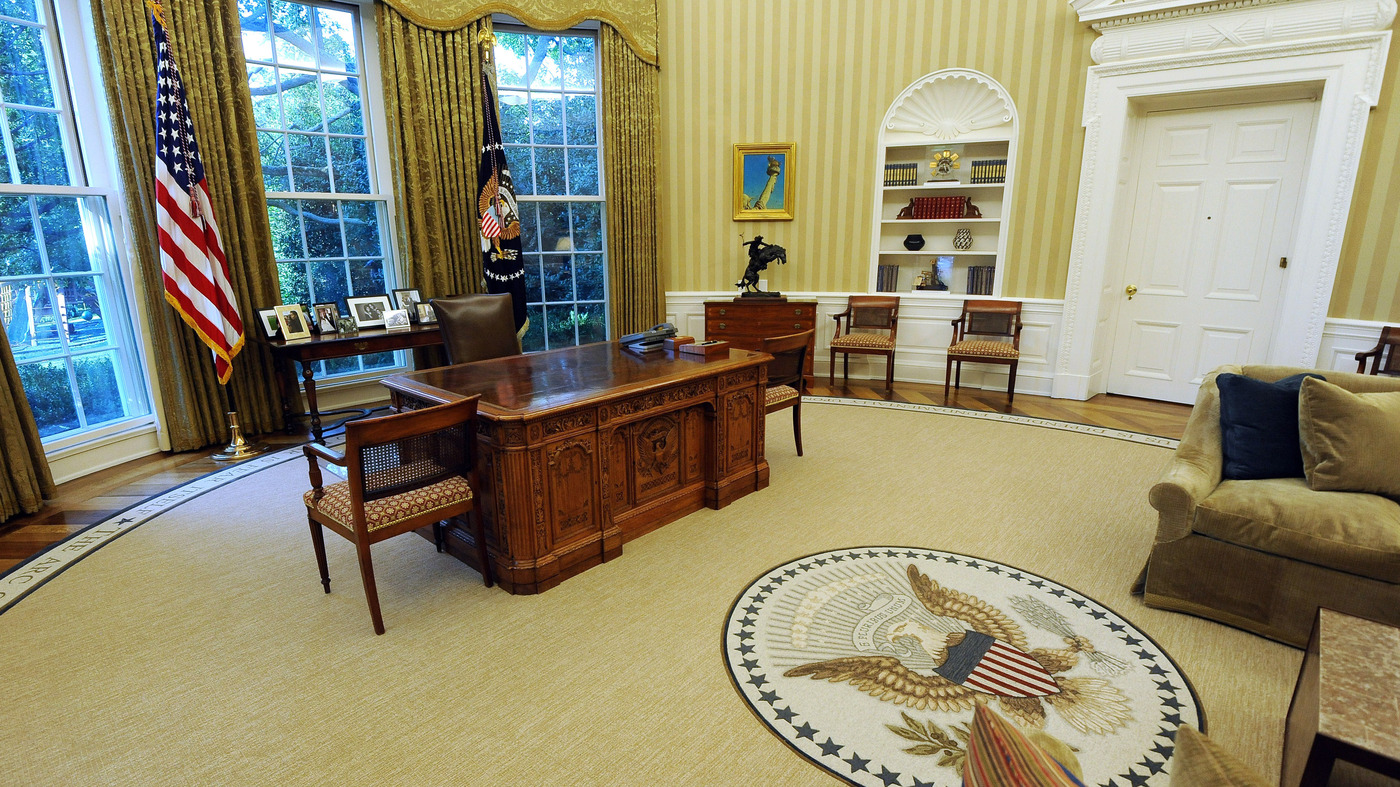 the white house oval office. Here\u0027s What The Candidates Want To Achieve In Their \u0027Honeymoon\u0027 Period : NPR White House Oval Office