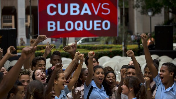Cuban blckade vote