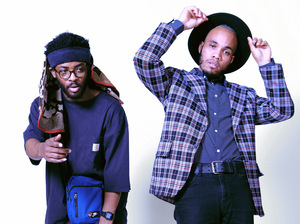 Knxwledge (left) and Anderson .Paak collaborate as NxWorries. Their debut album is Yes Lawd!
