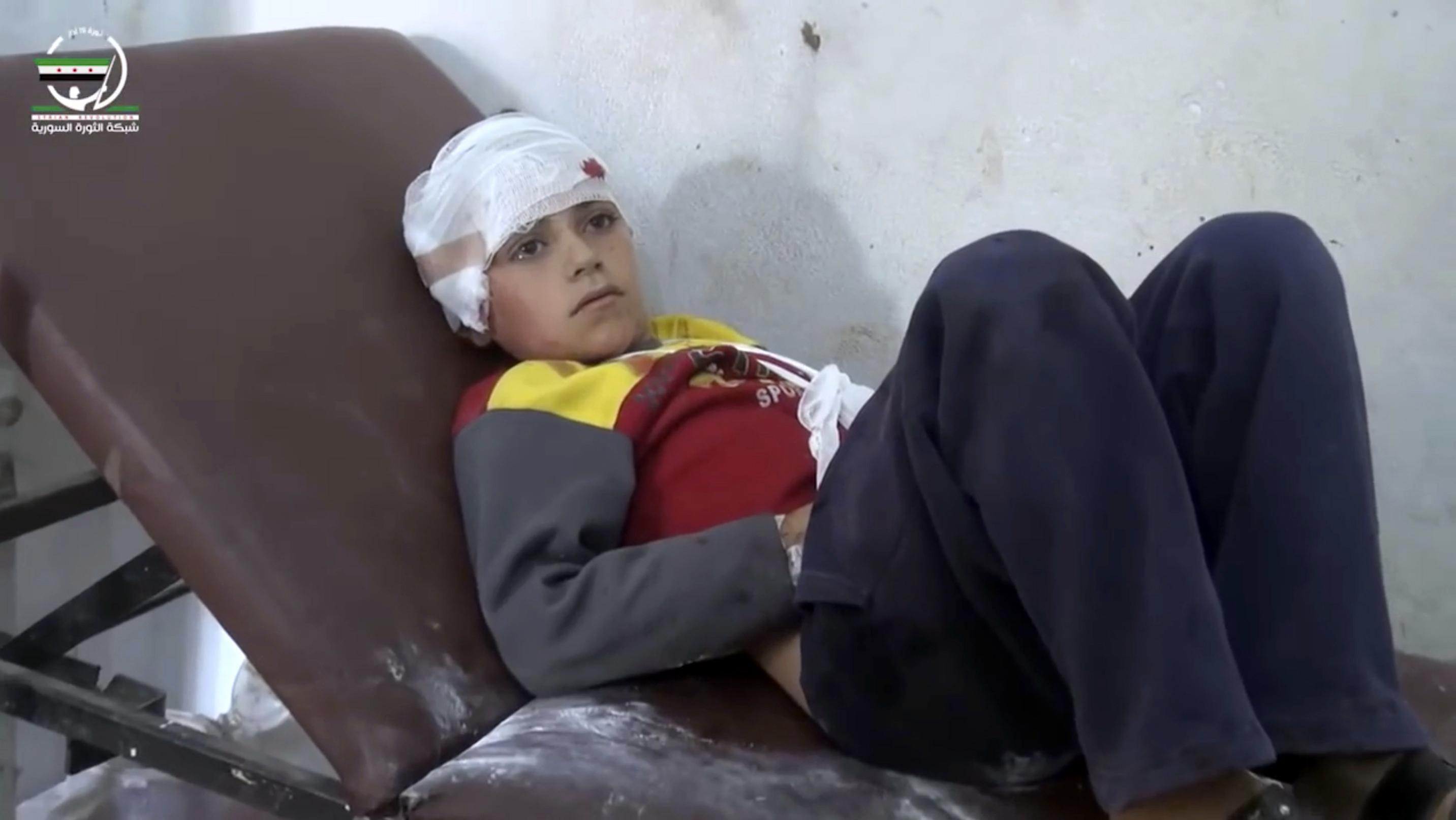Dozens Dead In What UNICEF Calls One Of Worst School Bombings In Syria's War