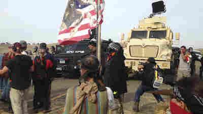 Police Evict Dakota Pipeline Protesters