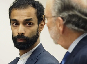 Dharun Ravi appears in Middlesex County Superior Court, in New Brunswick, N.J. He pleaded guilty to the attempted invasion of privacy of his Rutgers roommate Tyler Clementi who committed suicide in 2012.