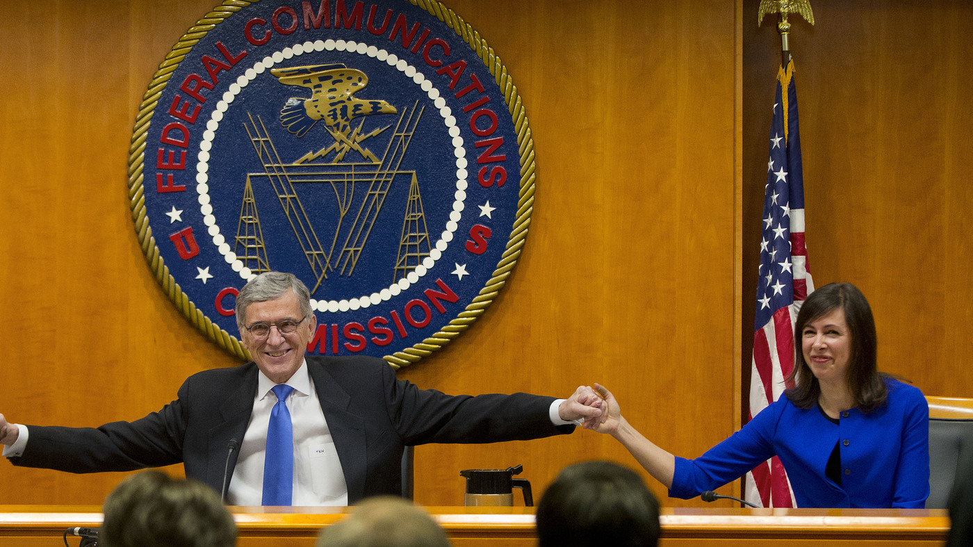 FCC Vote Means Internet Providers Need Permission To Share Your Data : The Two-Way : NPR
