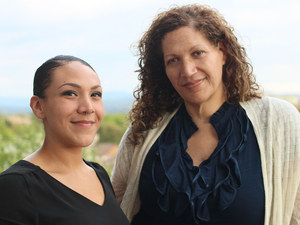 Jasmine Pacheco and her mother, Carmen Pacheco-Jones, on their recent visit with StoryCorps in Spokane, Wash.