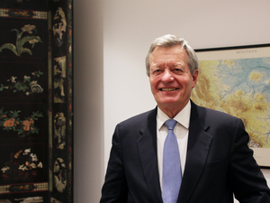 "U.S. Ambassador to China Max Baucus, a former Montana senator, recently became the first American envoy to China to visit all of the country's provinces. ""We Americans have an obligation to come to China, to learn more about China,"" he tells NPR. ""Why? Because with each passing day, it's going to be more and more in our future."""