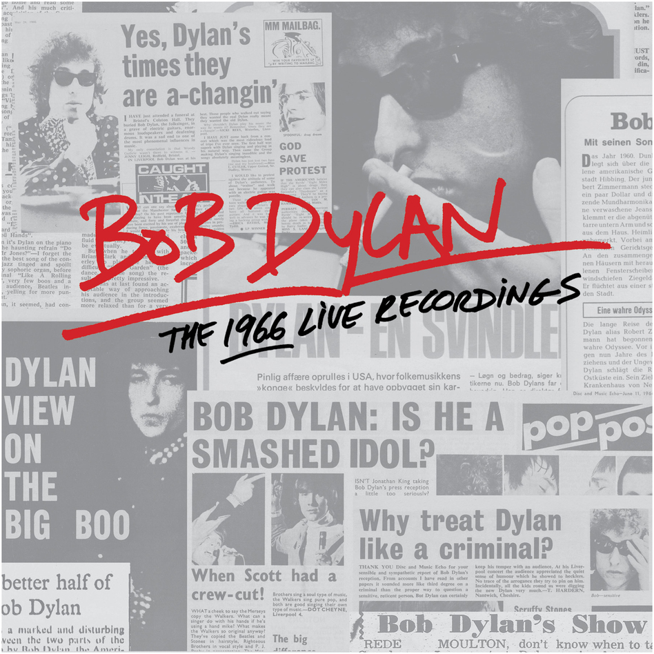 Bob Dylan, The 1966 Live Recordings. (Courtesy of the artist.)