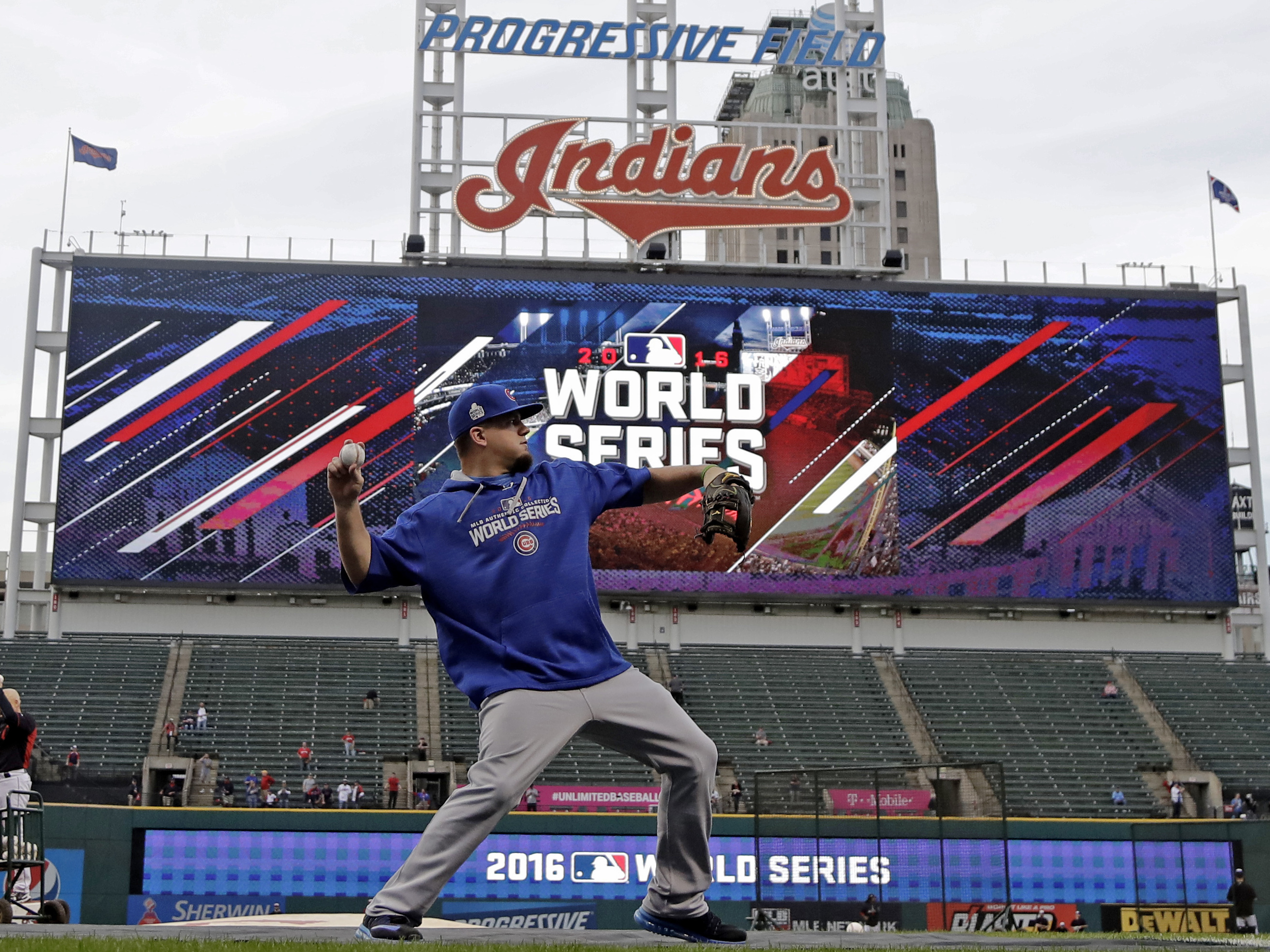 Cubs force World Series Game 7 behind Addison Russell's historic night