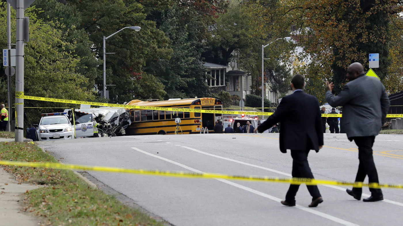 At Least 6 Dead In Baltimore School Bus, Commuter Bus Crash