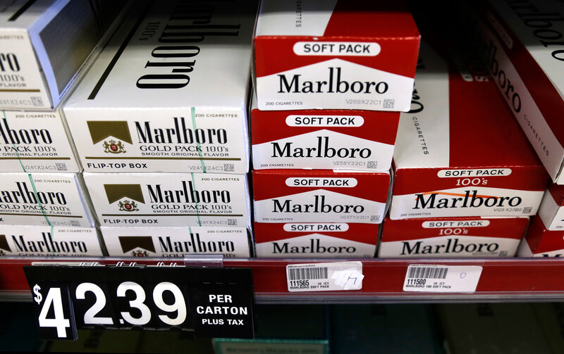 Why Tobacco Companies Are Spending Millions To Boost A Cigarette Tax